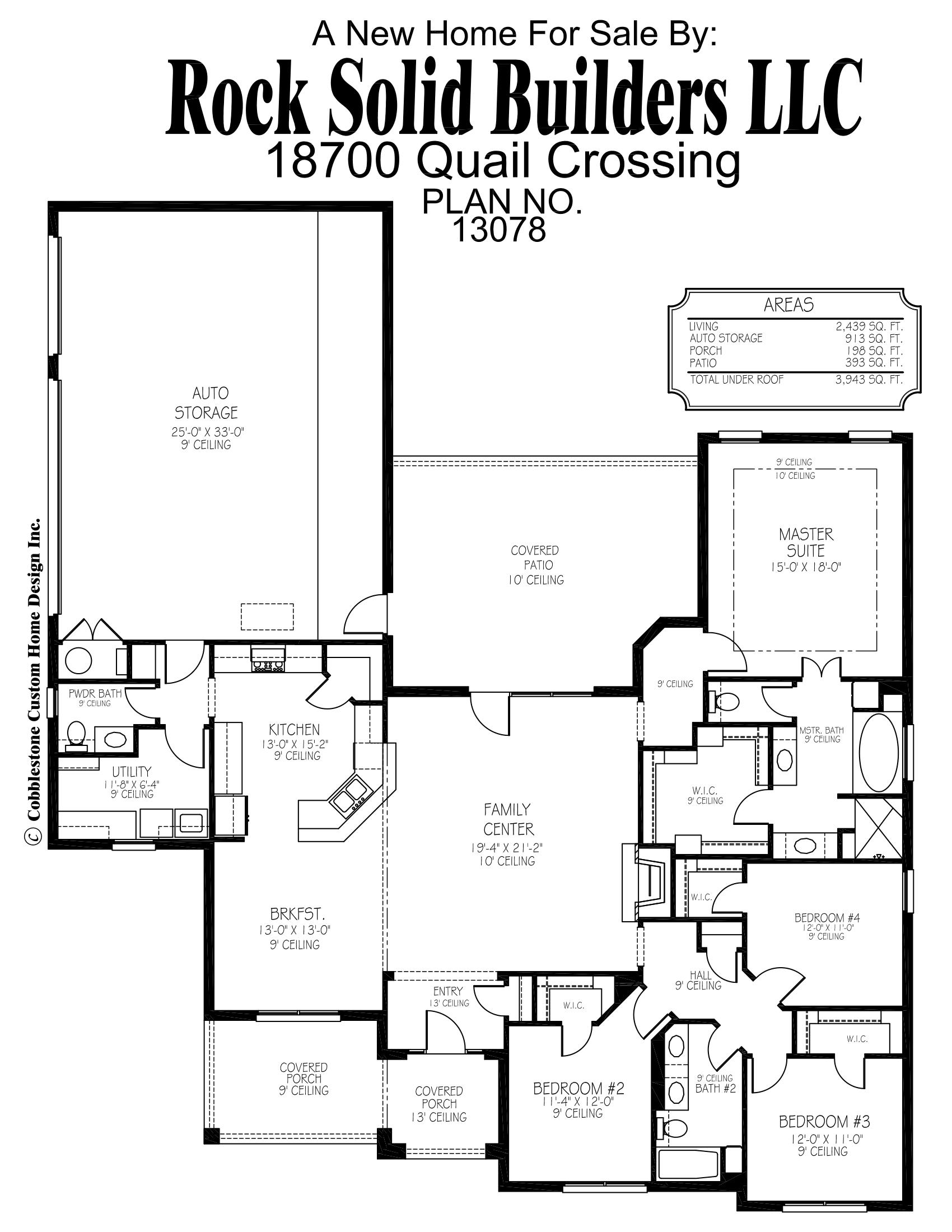 The matthew floor plan