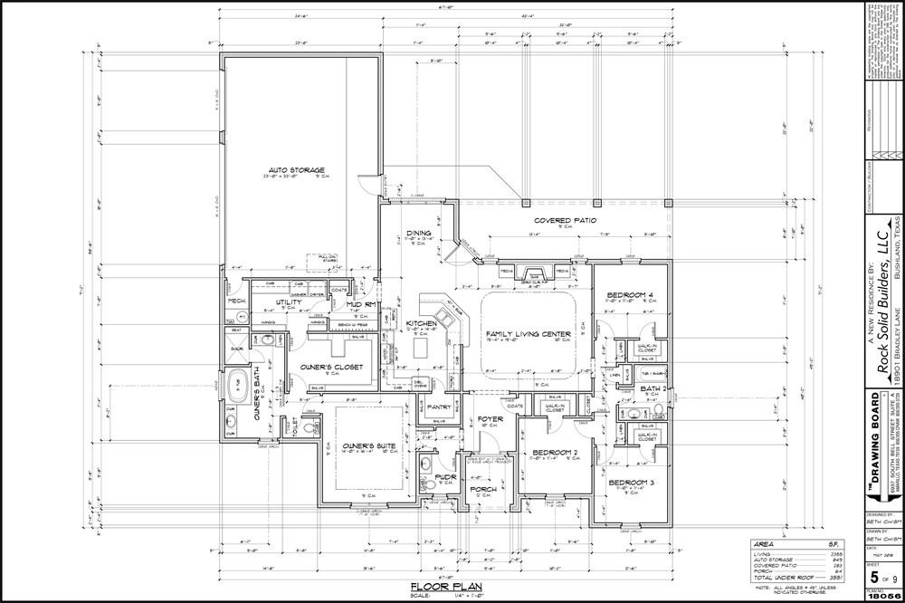 The bradley floor plan