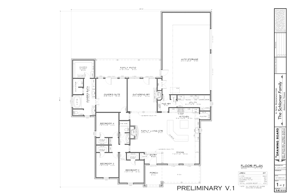 custom home floor plans