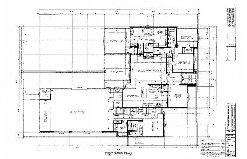 Rock Solid Builders Floor plan