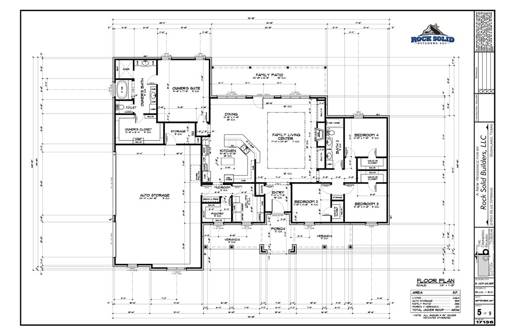 the mark floorplan
