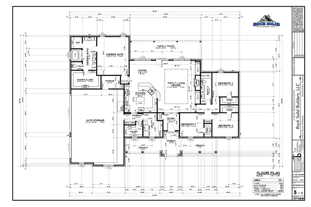 the mark floorplan